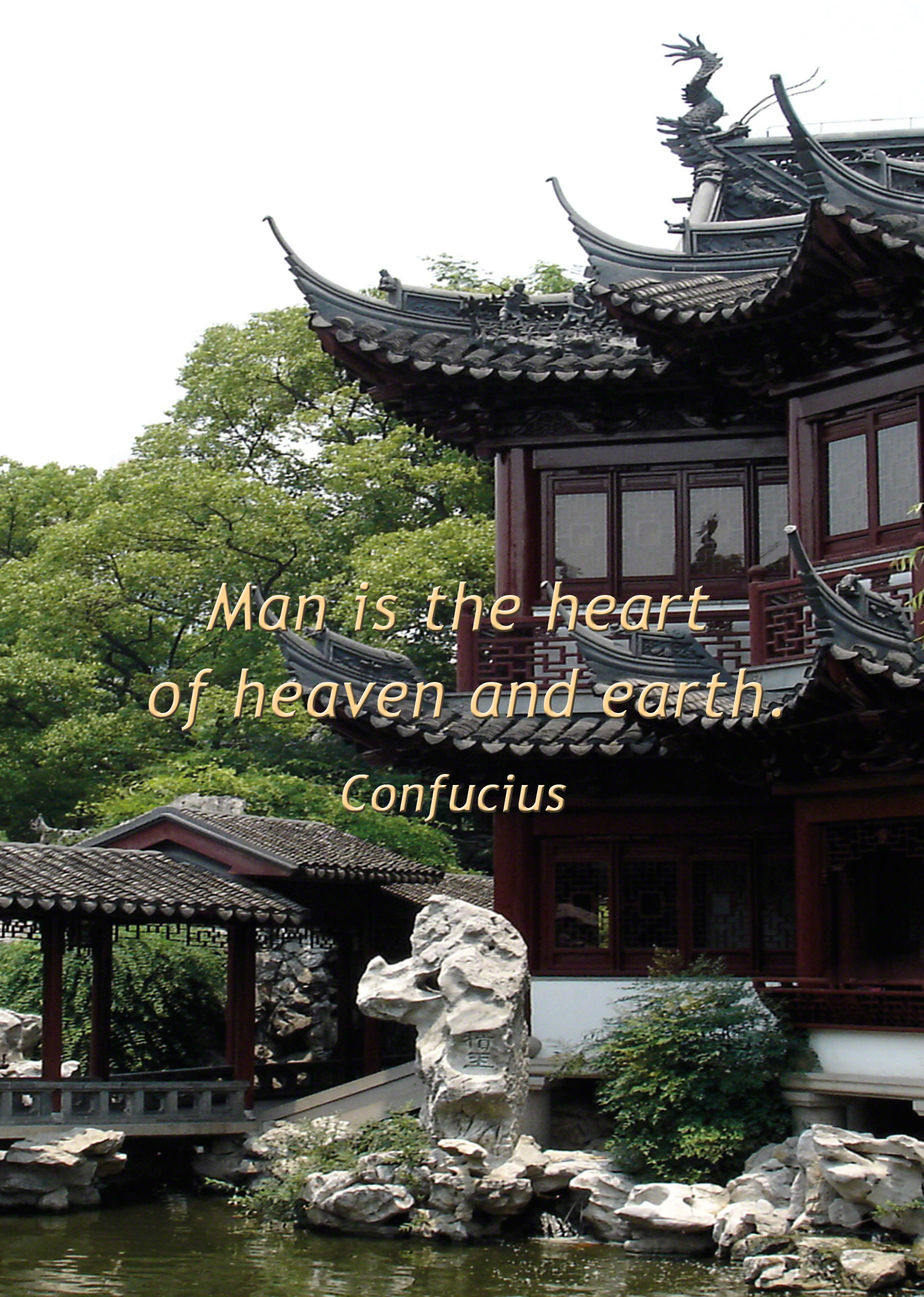 Temple Society Feng Shui Confucius